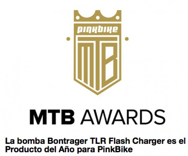 TLR Flash Charger es el Producto del Año para PinkBike