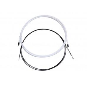 CABLE-FUNDA SRAM CAMBIO SLICKWIRE ROAD/MTB 4MM WHT