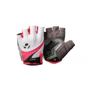 Guantes de ciclismo Bontrager Solstice Mujer - Talla M White/Sorbet