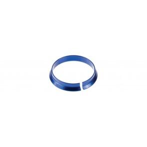 Piezas paral juego de dirección. Anillo de compresión Cane Creek 1-1/8 pulg. Azul