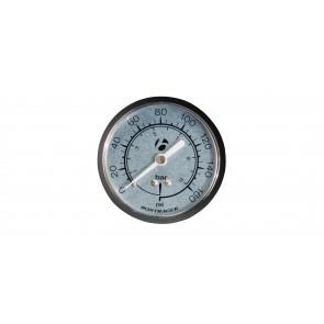 """Manómetro Bontrager de 2 1/2""""  para bomba taller"""