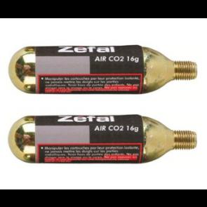 Bombona CO2 16 Grs. Zefal rosca   ( 2 unid)