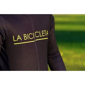 Maillot La Bicicleta Negro Thermo