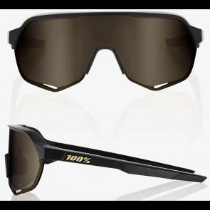 GAFA 100% S2 MATTE BLACK - SOFT GOLD - MIRROR LENDS