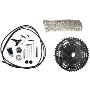 Kit E Thirteen TRS Plus Cast-cadena-pack mando 12V ( 9-46 )