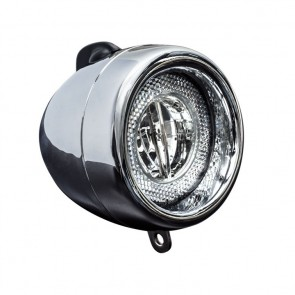 Luz Delantera  Spanninga Retro LED Chrome