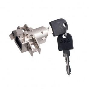 Cierre para candado AXA Bosch 2 para bajo bateria en plata