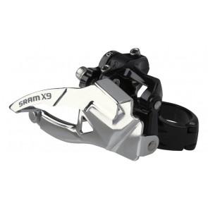 DESVIADOR DELANTERO SRAM X9 2x10 Low Direct Mount S1 Top Pull