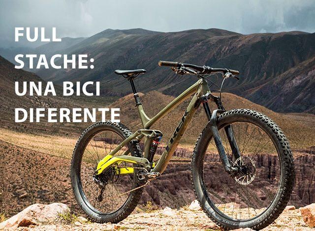 NUEVA TREK FULL STACHE. Una bicicleta los senderos más salvajes